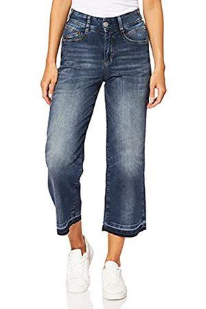 Herrlicher Damen Gila Sailor Cropped Jogg Bootcut Jeans