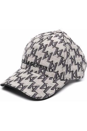Karl Lagerfeld K/Monogram Jacquard-Baseballkappe