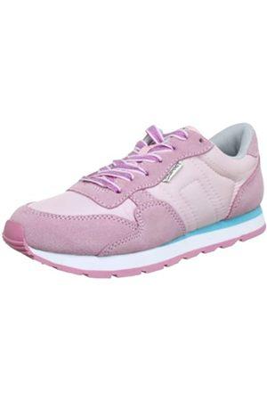ESPRIT Kivu Glitter Lu P12766, Mädchen Sneaker, Pink (rose pink 685)