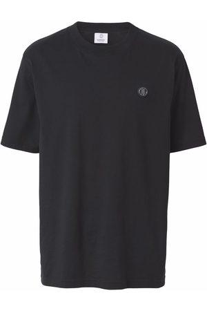 Burberry T-Shirt mit Monogramm