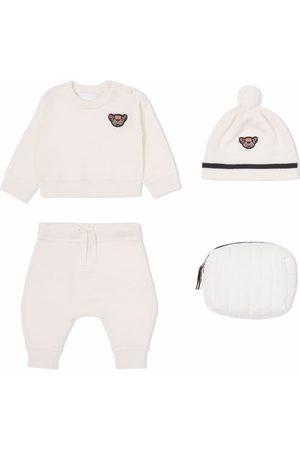 Burberry Baby Outfit Sets - Dreiteiliges Strampler-Set mit Thomas Bear