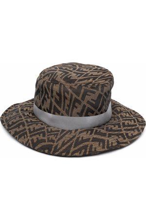 Fendi Hut mit FF Vertigo-Motiv