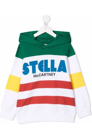 Stella McCartney Colour-block cotton hoodie