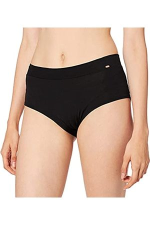 Skiny Damen Yoga & Relax Performance Midi Panty Sportunterhose (Black 7665)