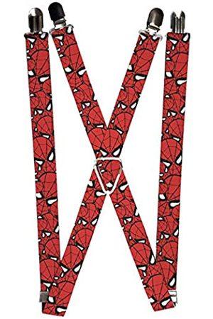Buckle-Down Buckle Down Unisex Marvel Comics Hosenträger – Spiderman Stacked Gr. Einheitsgröße