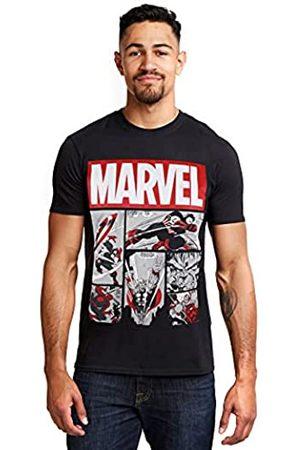 Marvel Herren Heroes Comics T-Shirt