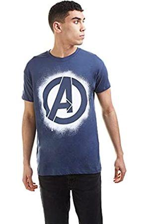Marvel Herren Shirts - Herren Avengers Stencil Logo T-Shirt