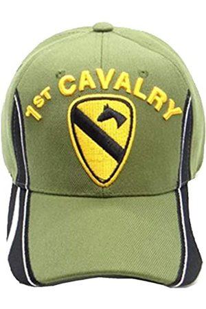 First Military Choice 1st Cavalry Military Cap mit Schwarz und Weiß auf dem Rechnung