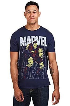 Marvel Herren Iron Man Repeat T-Shirt