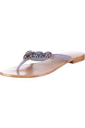 Coral Blue CB C 211203, Damen, Sandalen/Fashion-Sandalen, (Purple)