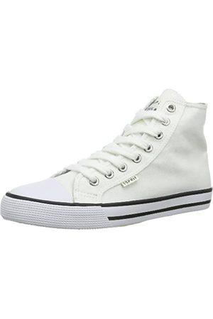 ESPRIT Conny Lu Bootie 024EKKW012, Unisex-Kinder Sneaker, (white 100)