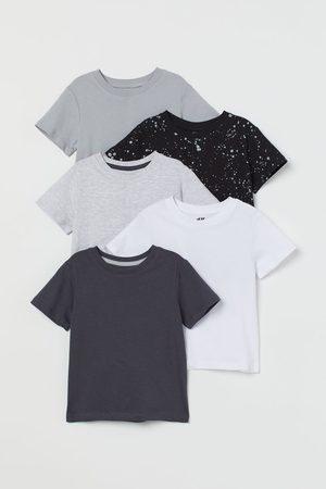 H&M 5er-Pack Baumwoll-T-Shirts