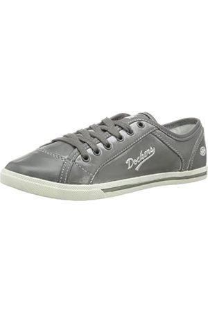 Dockers 346060-340097 Damen Sneaker, (grey)