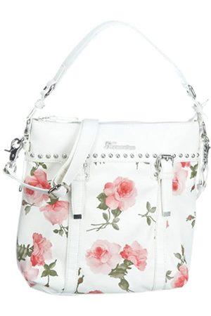 Fornarina Bags DOROTEA B611PS35, Damen, Schultertaschen, (WHITE), 25x8,5x20