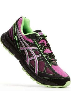 Asics Women's Gel-Scram 2 D Running Shoe,Black/Hot Pink/Flash