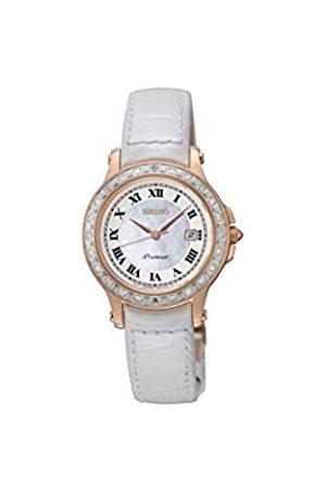 Seiko Herren Analog Quarz Uhr mit Leder Armband SXDF08P1_NACARADO