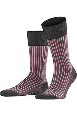 FALKE Herren Socken Oxford Stripe - Baumwollmischung, 1 Paar