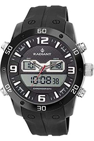 Radiant Herren Quarz Uhr mit Silikon Armband RA345601