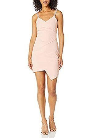 Parker Damen Alana Jeweled Strap Ruched Front Cocktail Dress Formelle Kleidung