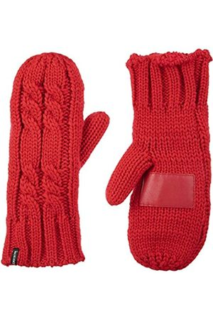 Isotoner Damen Grobstrick-Fäustlinge für kaltes Wetter mit warmem