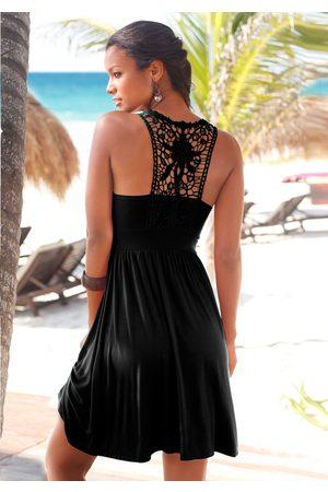 Lascana Strandkleid, mit Spitzenrücken