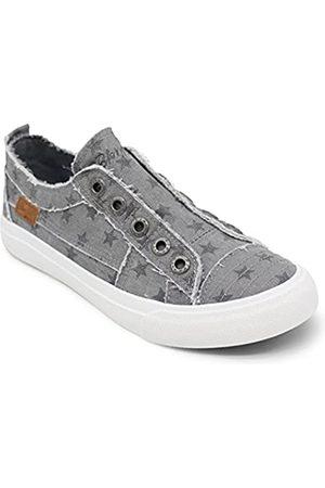Blowfish Damen Play Sneaker, (Wolf Grey Galaxy Star Print)