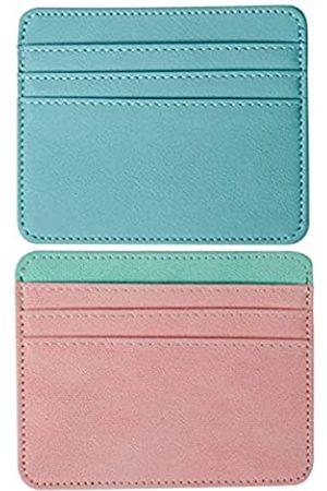 Samusil BZ Wallet Dokumentenhalter aus Leder, vertikal, 2