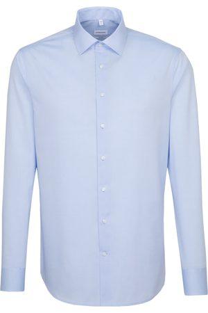 Seidensticker Businesshemd »Shaped«, Shaped Extra langer Arm Kentkragen Uni