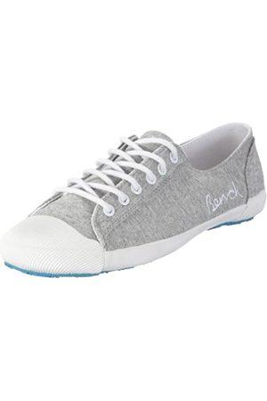 Bench Picante BLTA0148, Damen, Sneaker, (Grey Marl/White/Turquoise GY134X-WH001-TQ046)