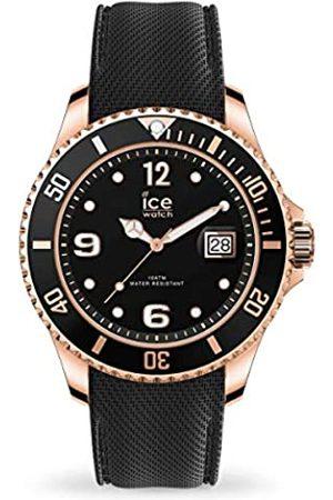 Ice-Watch ICE steel Black Rose-Gold -e Herrenuhr mit Silikonarmband - 016766 (Large)