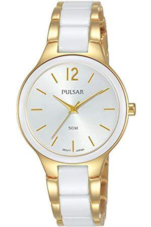 Pulsar QuarzDamen-UhrEdelstahlmitMetallbandPH8434X1