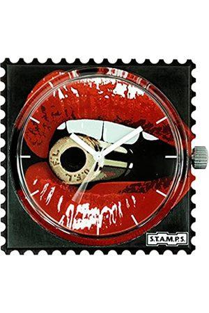 S.T.A.M.P.S. S.T.A.M.P.S Unisex Analog Quarz Uhr mit None Armband 104261