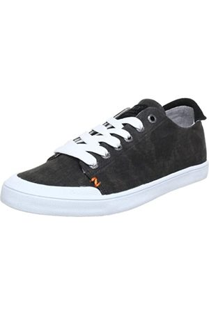 Hub Brooklyn-W C W12-05 C-C01-01, Damen Sneaker, (blk/wht 01)