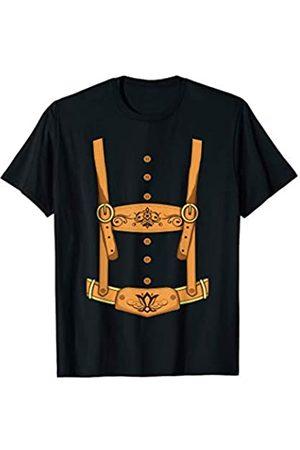 Nerd Ninja Oktoberfest Lederhosen Oktoberfest Deutsches Bierfest Kostüm T-Shirt