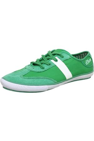 s.Oliver Casual 5-5-53220-20, Mädchen Sneaker, (Green 700)