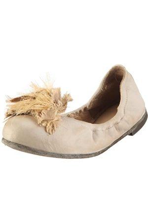Pantofola d'Oro Pantofola D´ORO Ballerina Elastic Nappa + Fiore BL29F-D, Damen, Ballerinas, (Pietra 192)