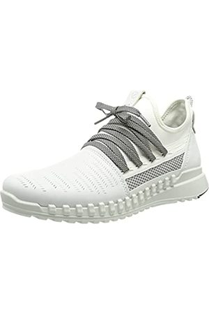 Ecco Damen Zipflex Sneaker, White