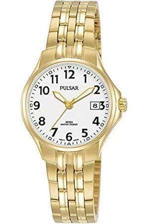 Pulsar Quarz Damen-Uhr Edelstahl mit Metallband PH7492X1