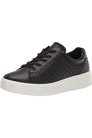 Ecco Women's Soft 9 II Tie Sneaker, Black