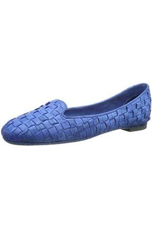 Pantofola d'Oro Damen Ballerinas - Pantofola D´ORO Ballerina Slipper BL118-D Damen Ballerinas, Türkis (Avio 15)