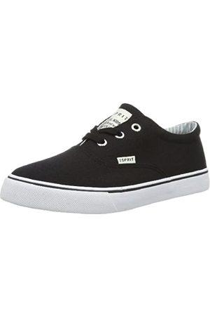 Esprit Nic Lace UP 024EKKW010, Jungen Sneaker, (black 001)