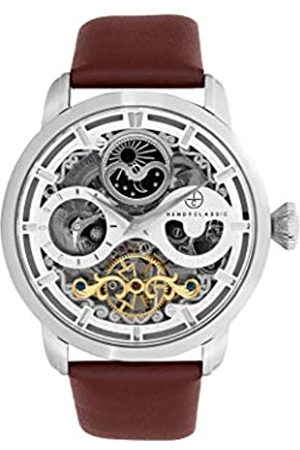 Trendy Classic Für Herren Analog Quarz Uhr mit Leder Armband CC1056-03