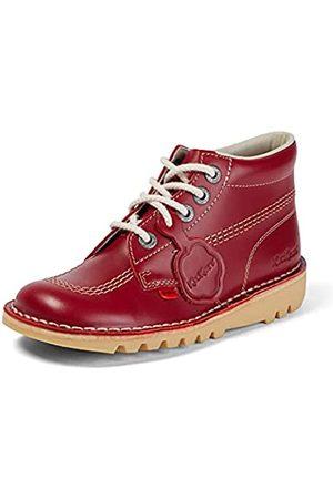 Kickers Damen Kick Hi' Kurzschaft Stiefel, (Red/Light Cream)