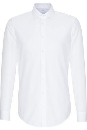Seidensticker Businesshemd »Slim«, Slim Extra langer Arm Kentkragen Uni