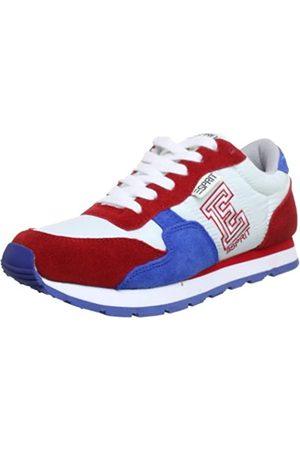 ESPRIT Kivu-e Lace Up P12760, Unisex-Kinder Sneaker, (heart red 613)