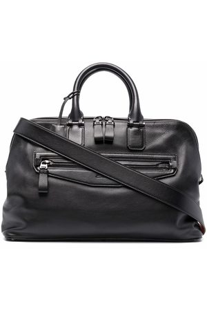 santoni Reisetasche aus Leder