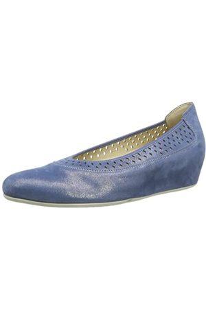 Hassia Nizza, Weite H 7-302165-32000 Damen Ballerinas, (Blue 3200)
