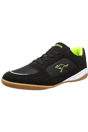 KangaROOS Balduin 7321A Unisex-Erwachsene Sneaker, (blk/Lime 580)