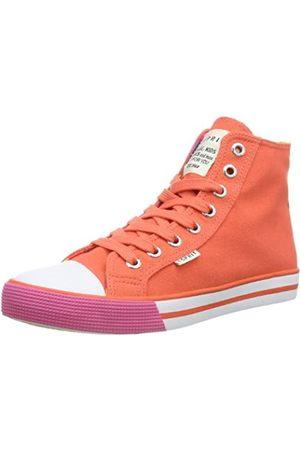 Esprit Conny Vivid Hi 024EKKW016, Mädchen Sneaker, (hot coral 632)