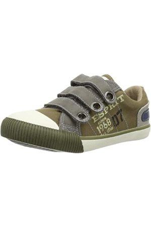 Esprit Jungen Schuhe - Benny Tape Kids 024EKKW001, Jungen Sneaker, (laurel green 309)